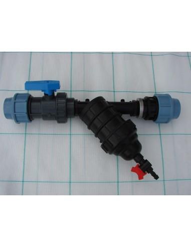 Vannes, filtration, régulation, pompage