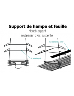 Support Sangle Feuille ou...